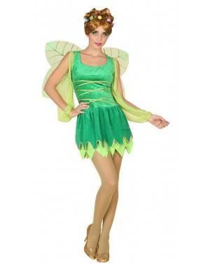 Costume Fata Verde Adulta