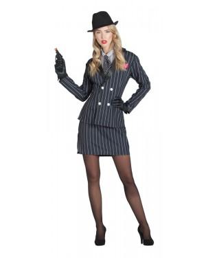 Costume da Gangster per Donna per Carnevale | La Casa di Carnevale
