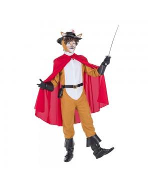 Costume da Gatto con Stivali Adulto per Carnevale | La Casa di Carnevale