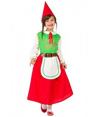 Costume da Gnomo Bambina