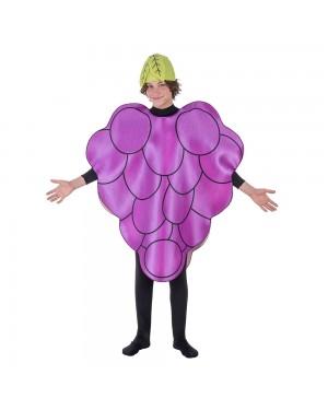 Costume da Grape Adulto per Carnevale | La Casa di Carnevale