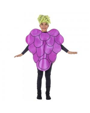 Costume da Grape Bambini per Carnevale | La Casa di Carnevale