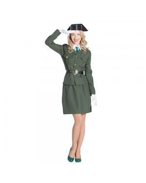 Costume da Guardia Civile Donna per Carnevale | La Casa di Carnevale
