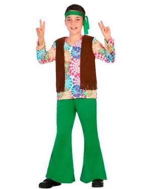 Costume da Hippie 3-4 Anni per Carnevale