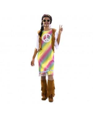 Costume da Hippie Arcobaleno per Carnevale | La Casa di Carnevale
