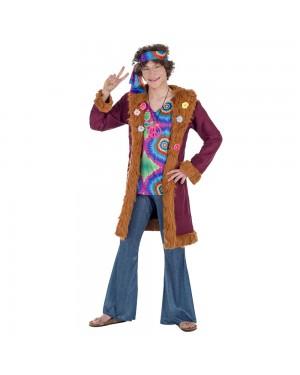 Costume da hippie de Luxe Uomo per Carnevale | La Casa di Carnevale