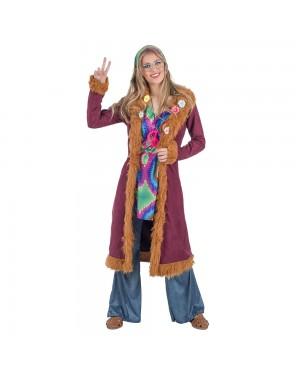 Costume da hippie Luxe donna per Carnevale | La Casa di Carnevale