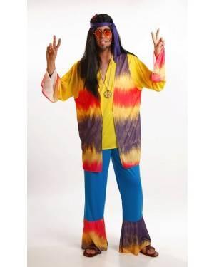 Costume da Hippy Uomo Adulto M/L per Carnevale | La Casa di Carnevale