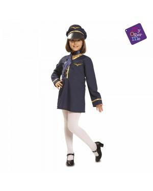 Costume da Hostess Bambina per Carnevale | La Casa di Carnevale