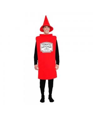 Costume da Ketchup per Carnevale | La Casa di Carnevale