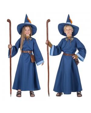 Costume da Mago Azzurro Bambini per Carnevale | La Casa di Carnevale