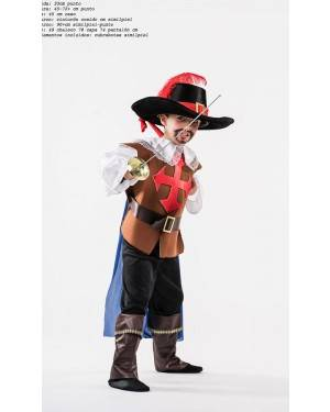 Costume Moschettiere Bambino