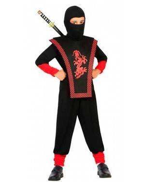 Costume da Ninja 10-12 Anni per Carnevale