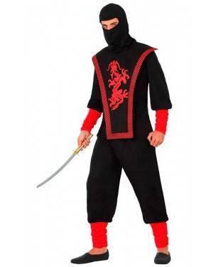 Costume da Ninja Adulto M/L per Carnevale