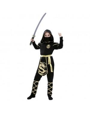 Costume da Ninja Drago Bambina per Carnevale | La Casa di Carnevale