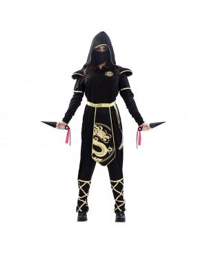 Costume da Ninja Drago Donna per Carnevale | La Casa di Carnevale