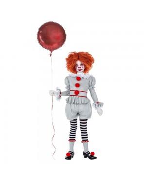 Costume da Pagliaccio Cattivo Bambina per Carnevale | La Casa di Carnevale