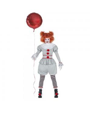 Costume da Pagliaccio Cattivo Donna per Carnevale | La Casa di Carnevale
