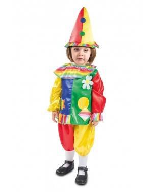 Costume da Pagliaccio per bambine-bebé