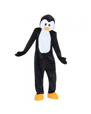 Costume da Pinguino Mascotte Gigante per Carnevale | La Casa di Carnevale