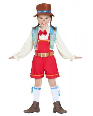 Costume da Pinocchio Bambina per Carnevale | La Casa di Carnevale