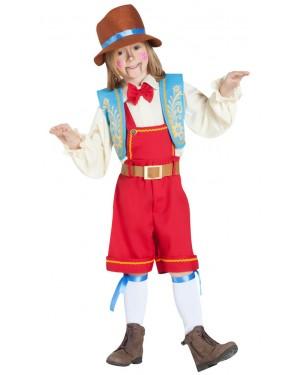 Costume da Pinocchio Bambino per Carnevale | La Casa di Carnevale