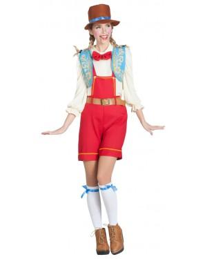 Costume da Pinocchio Donna per Carnevale | La Casa di Carnevale
