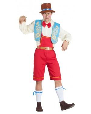 Costume da Pinocchio Uomo per Carnevale | La Casa di Carnevale