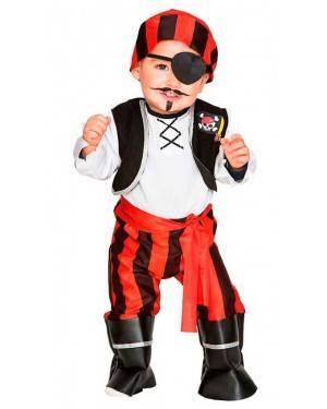 Costume Pirata Baby 2-3 Anni