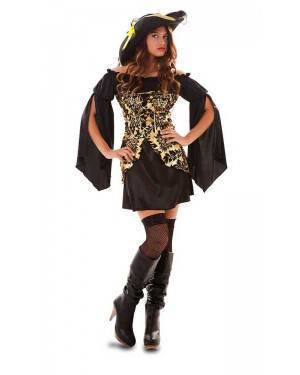 Costume Pirata Dorato Adulto