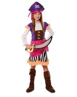 Costume da Piratessa Avventuriera Bambina