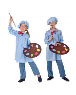 Costume da Pittore Bambini per Carnevale | La Casa di Carnevale