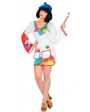 Costume Pittore Donna Adulto per Carnevale   La Casa di Carnevale