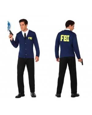 Costume Polizia F.B.I Adulto M/L