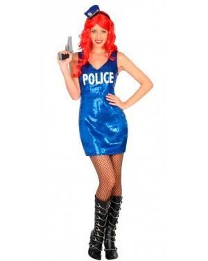 Costume Polizia Sexy XL