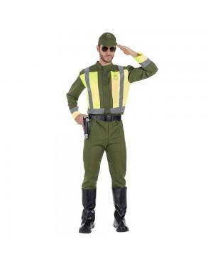 Costume da Polizia Stradale Adulto per Carnevale | La Casa di Carnevale