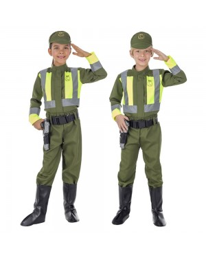 Costume da Polizia Stradale Bambini per Carnevale | La Casa di Carnevale