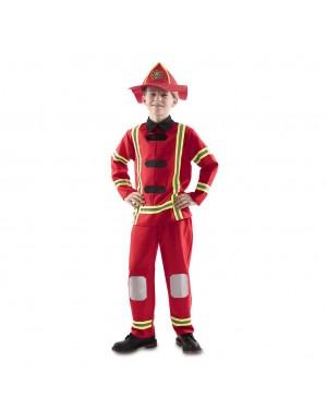 Costume da Pompiere Bambino per Carnevale | La Casa di Carnevale