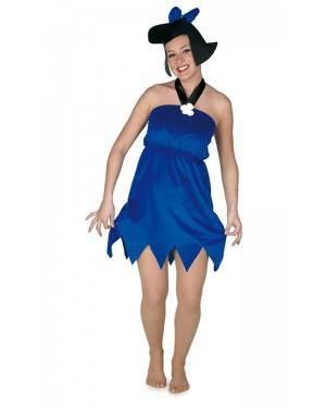 Costume da Preistorica Blu Adulta M per Carnevale | La Casa di Carnevale