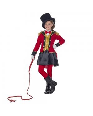Costume da Presentatore Domatore Bambina per Carnevale | La Casa di Carnevale