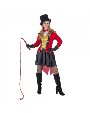 Costume da Presentatore Domatore Donna per Carnevale | La Casa di Carnevale