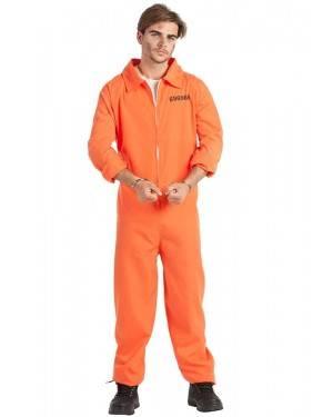 Costume da Prigioniero Carcerato Taglia M/L
