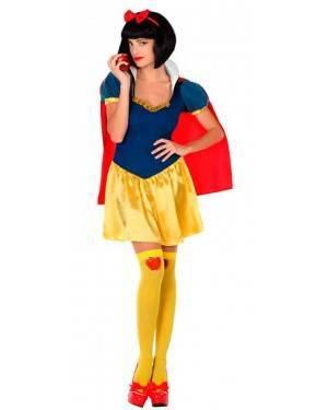 Costume da Principessa della Neve M/L per Carnevale