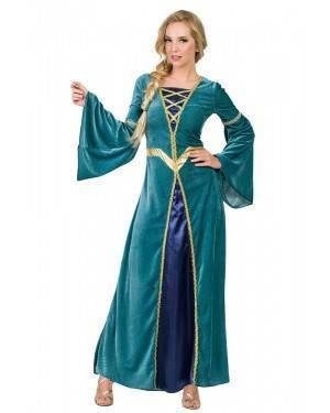 Costume da Principessa  Medieval Adulto