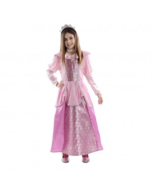 Costume da Principessa Rosa Bambina per Carnevale | La Casa di Carnevale