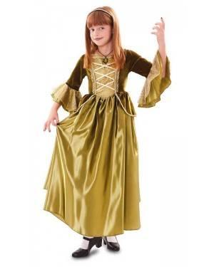Costume da Principessa Verde Bambina per Carnevale | La Casa di Carnevale