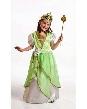 Costume Principessa Verde Bambina