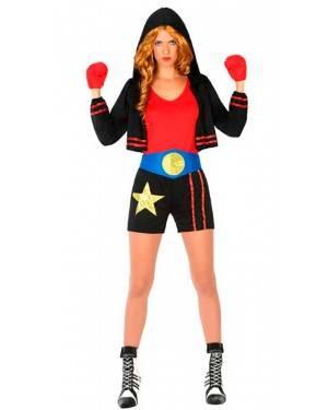 Costume da Pugile Donna XS/S per Carnevale
