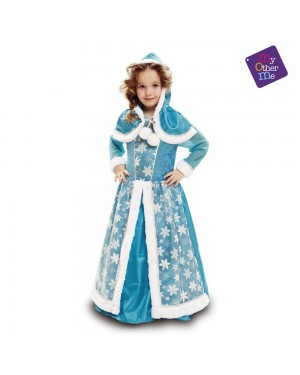 Costume da Regina di Ghiaccio Bambina per Carnevale | La Casa di Carnevale
