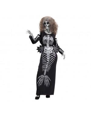 Costume da Sirena Scheletro per Carnevale | La Casa di Carnevale